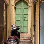 City Monument - Green Door, Galli Chooriwallan Street