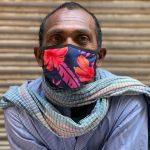City Style - Pramod Kumar's Flowery Mask, Roshanpura