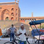 City Moment - Prayer Witnessed, Outside Jama Masjid Gate No. 2