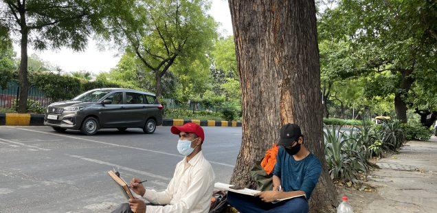 City Walk - Post-Lockdown Lodhi Road, Central Delhi