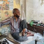 City Landmark - Udhmi Ram's Shoe Repair Stall, Green Park