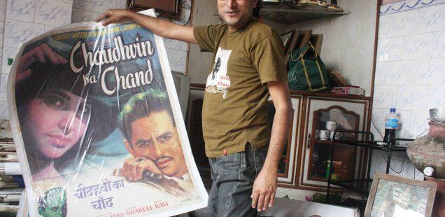 City Obituary - Film Poster Seller Shanky, Old Delhi