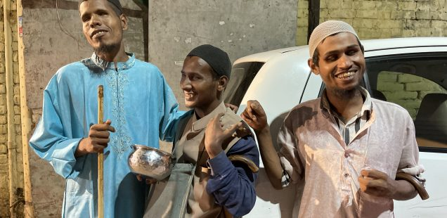 City Life - Three Friends, Hazrat Nizamuddin Basti