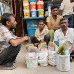 City Life - Four Labourers, Tiraha Behram Khan