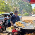City Food - Dilli 6 Chaat Bhandar, Outside Siri Fort Auditorium